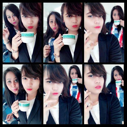 Hi! In Office coffee cigarette