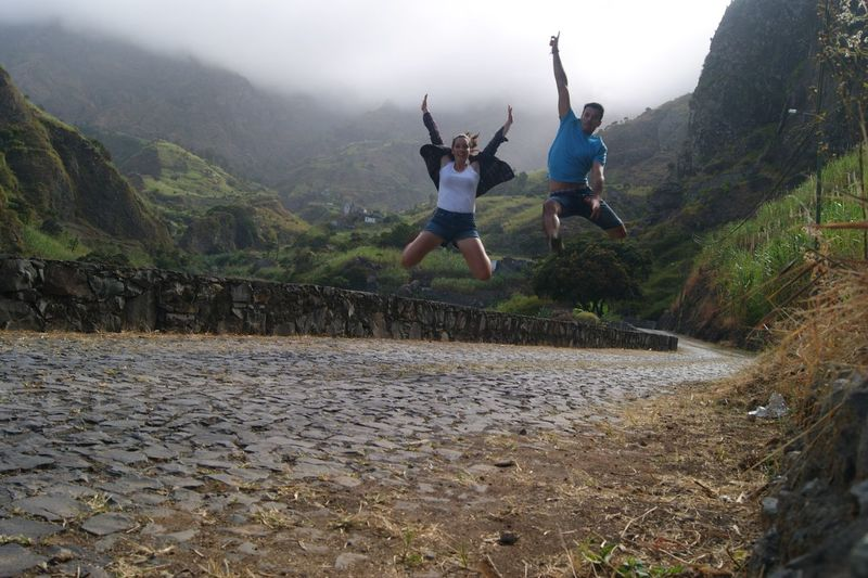 Taking Photos Enjoying Life Love My Boyfriend ❤ Happy Cabo Verde Africa Nature Mountains Diferent Sant Antao