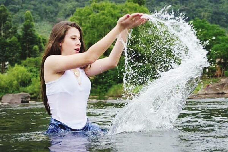 Hair Natureza Encanto Nature Agua Water Tagsforlikes Paixão Cachoeira Girl