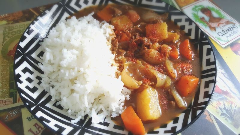 Japanese katsu curry AKA pork curry...yummmm Home Cooking Taking Photos Yummy Food My Cooking Chill At Home