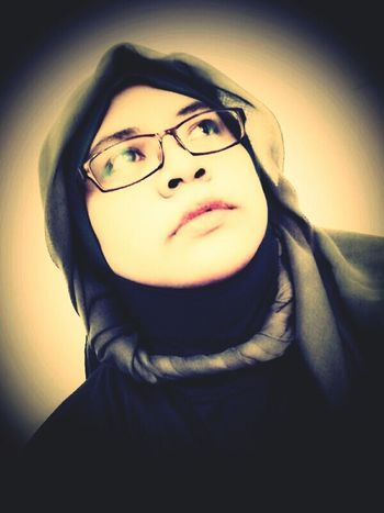Me Myself And I Selfportrait Just Thinking Indonesian Hijabers