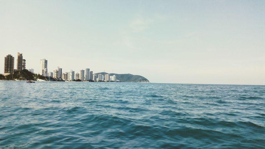 blue sea City