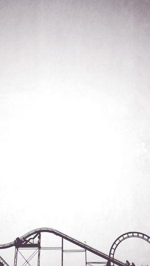 Porque las idas y venidas, subidas y caídas jamás tienen un final. Rollercoaster Copy Space Outdoors No People Sky Day Amusement Park Canon_official City Life Color Photography Filter Abstract Photography Photography Inspirational Moment Architecture Cloud - Sky Canon Sx50 Place Of Worship Medellin City