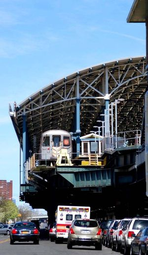 Coneyisland Subway Station D Train End Of The Line