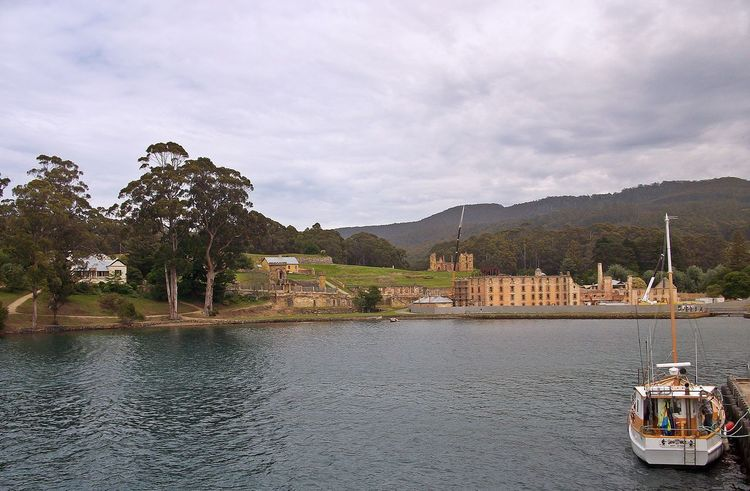 Port Arthur Historic Site Architecture Beauty In Nature Building Exterior Built Structure Cloud - Sky Day Lake Mountain Mountain Range Nature Nautical Vessel No People Outdoors Port Arthur Sky Transportation Travel Destinations Water Waterfront