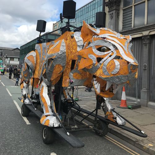 Manchester Day Manchester Day 2018 Tiger Building Exterior Architecture City Built Structure Day Road Transportation