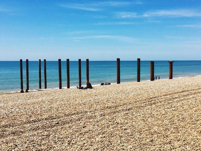 Beach Brighton Holding The Sky Iphone6