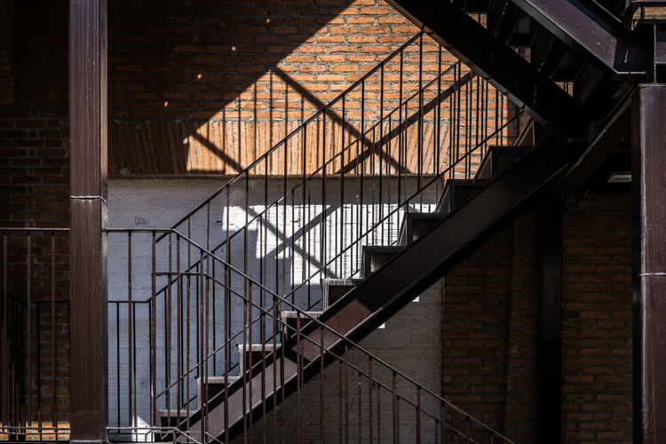 Staircases In Old Building