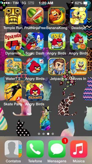 Qual jogar? 😓 IOS 8 Games Apple Iphone5sgold