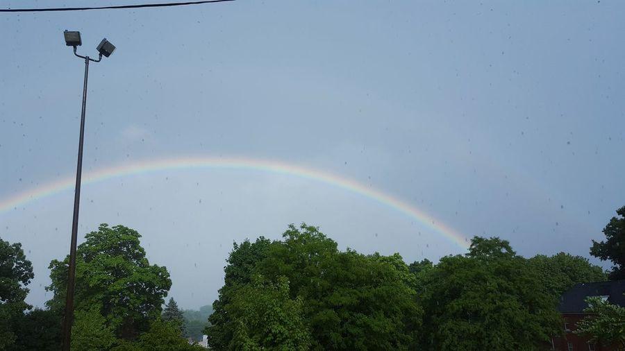 This double rainbow was nice Rainbow🌈 First Eyeem Photo