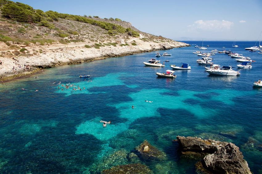 Mediterranean  Mediterranean Sea Relaxing Swimming Vacations Yachts In Harbour Yachts At Anchor Boats Boats In A Bay Boats In The Harbour Boats In The Sea Day Island Nature People Vacations Watersports Relaxing In The Water Relaxing Moments Sea Swimming In The Sea Water Yacht Yacht Harbor Yachting Yachts At Port Yachts Parking