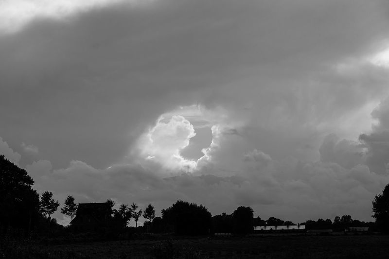 Hole in the sky.... Black & White Black And White Blackandwhite Cloud - Sky Clouds Hole In The Sky Landscape Silhouette Sky Sky And Clouds