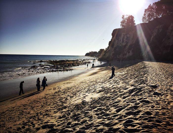 Malibu Beach California Malibu Paradisecove Pacific Ocean