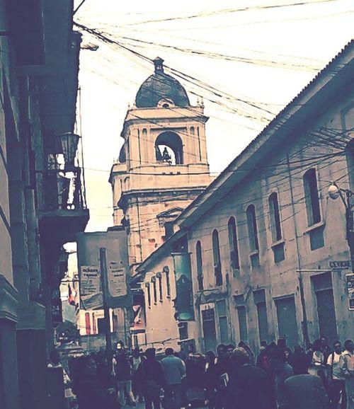 Kilometro cero de la ciudad de La Paz