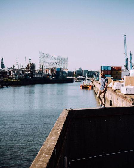 The wall City Elbphilharmonie Hamburg Hamburger Hafen Architecture Cityscape