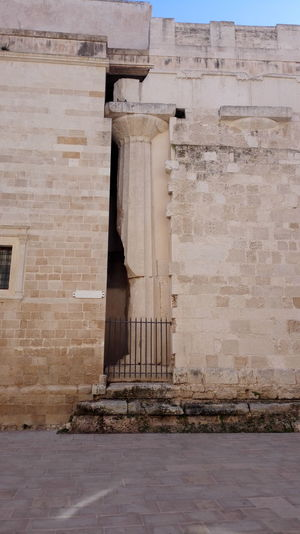 Siracusa Ortigia Built Structure Architecture Church
