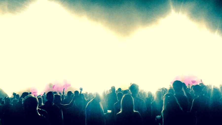 Crowd Large Group Of People Music Festival Youth Culture Music Audience Nightlife Event Excitement Popular Music Concert Enjoyment Silhouette Spectator Night Stage Light Fun Arts Culture And Entertainment Men Stage - Performance Space Togetherness