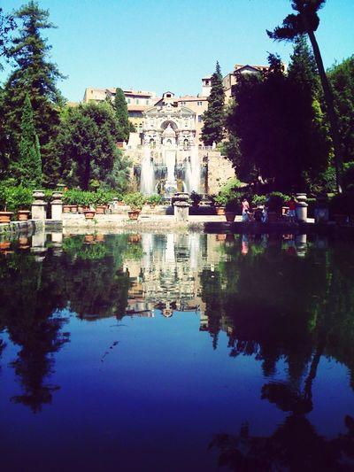 Villa D'Este Rome Tivoli Historical Building