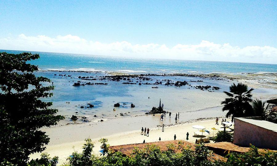 Its paradise...