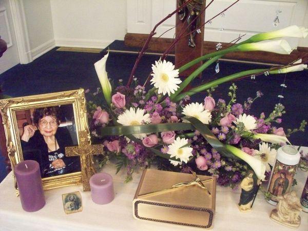 Portrait In Honor Of Remembering Grandma