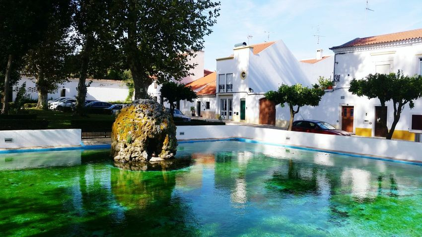 Swimming Pool Water Outdoors Day Tree Building Exterior No People Architecture Sky Summer Travel Photography Traveling Portugal Countryside Country Life Alentejo,Portugal Alentejo, Portugal Alentejo Landscapes Weekend Activities Weekend Travel Destinations Vila Vicosa, Portugal Vila Viçosa Portugal
