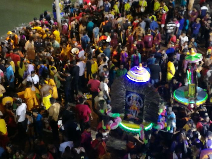 ThaipusamMalaysia2017 Multi Colored Large Group Of People Crowd Real People Outdoors Day People