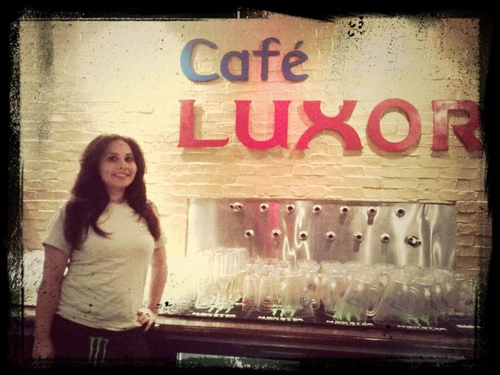 Come to Café Luxor for some hookah and belly dancing tonight! <3