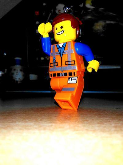 The Lego Movie Emmet Keyring