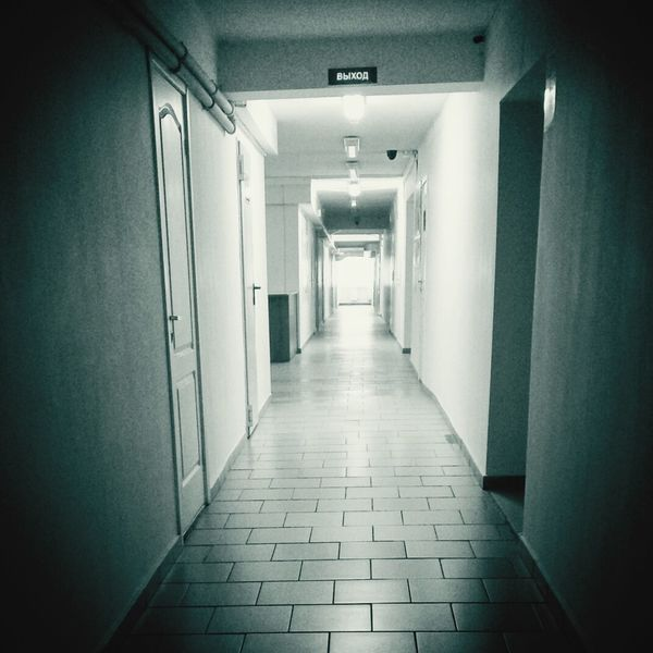 Empty Corridor Indoors  The Way Forward No People Architecture EyeEm Gallery