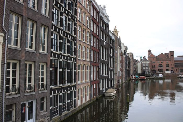 EyeEm Selects Architecture Building Exterior Residential Building House Built Structure Canal Window Water City Outdoors Day Nautical Vessel No People Amsterdam Canal Amsterdam Architecture Amstel