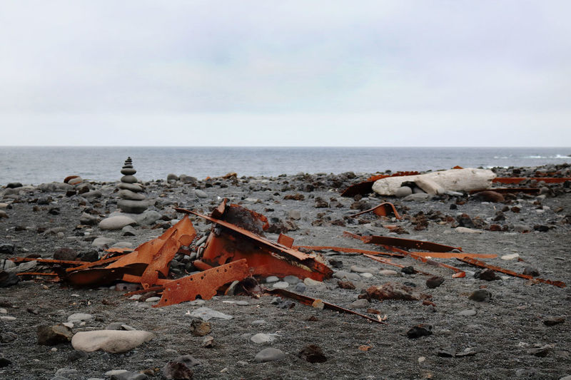 Djúpalónssandur Beach Iceland Abandoned Beach Black Sand Beach Iceland Day Destruction Horizon Over Water Nature No People Outdoors Sea Sky Water Wreckage