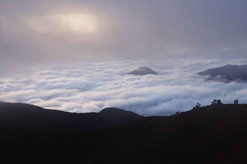Sea Of ​​clouds Mt. Pulag Philippines Mountain Sky Nature Clouds And Sky Beauty In Nature Scenics Tranquility Landscape Tranquil Scene Mountain Range Outdoors Sunrise Day Mountains Clouds FUJIFILM X-T10 Fujifilm_xseries Fujifilm Fuji