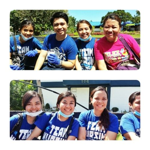 Thanks for the ride Searg! ??? Team Nursing Velez College Volunteers Bangonpilipinas