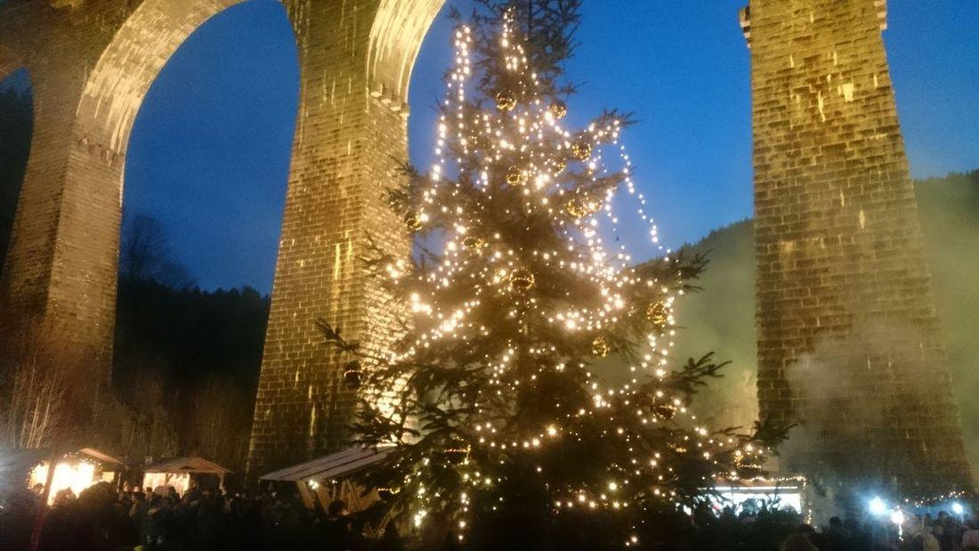 Christmas Around The World Christmas Market, black forrest, Ravenna. Weihnachstmarkt am 4. Advent unter der Ravenna-Brücke zwischen Freiburg und Hinterzarten.