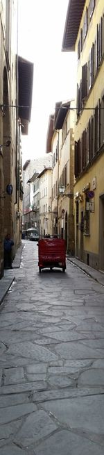 Italian Lane Lane Italy Small Car
