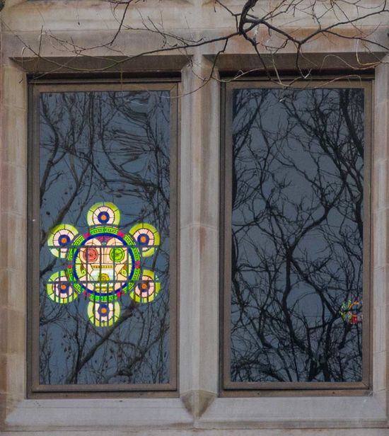 Jefferson Mkt. Library - 3/21/17 Bare Trees Bare Trees Reflections CanonpowershotG7X EyeEm StreetPhotography, NYC Hello. Historical Building Malephotographerofthemonth Stained Glass Window The Journey Is The Destination
