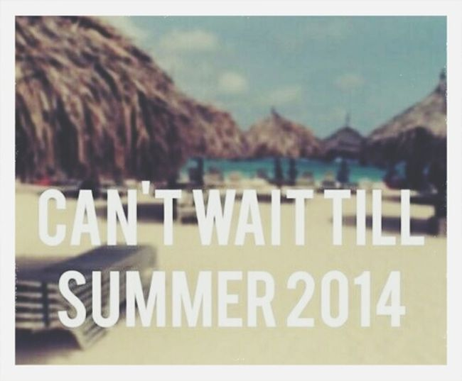 Summer please hurry ?