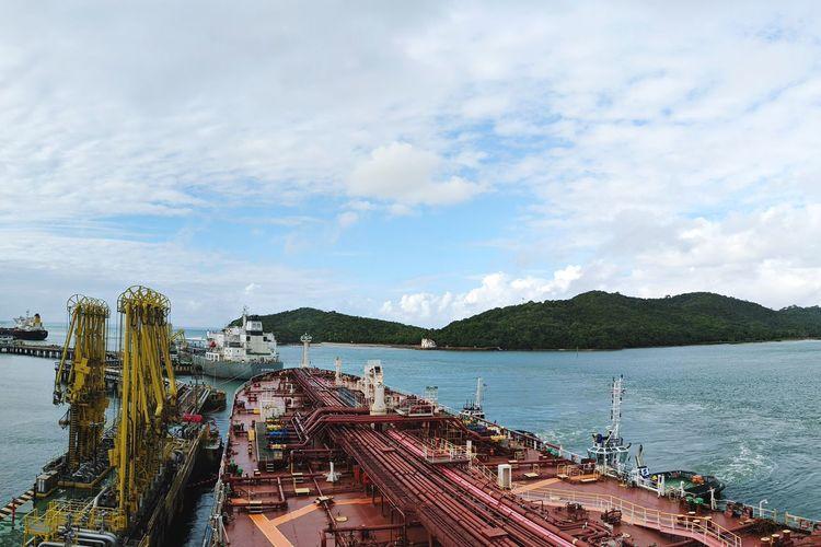 Nautical Theme Nautical Vessel Life Onboard Tanker Ship Water
