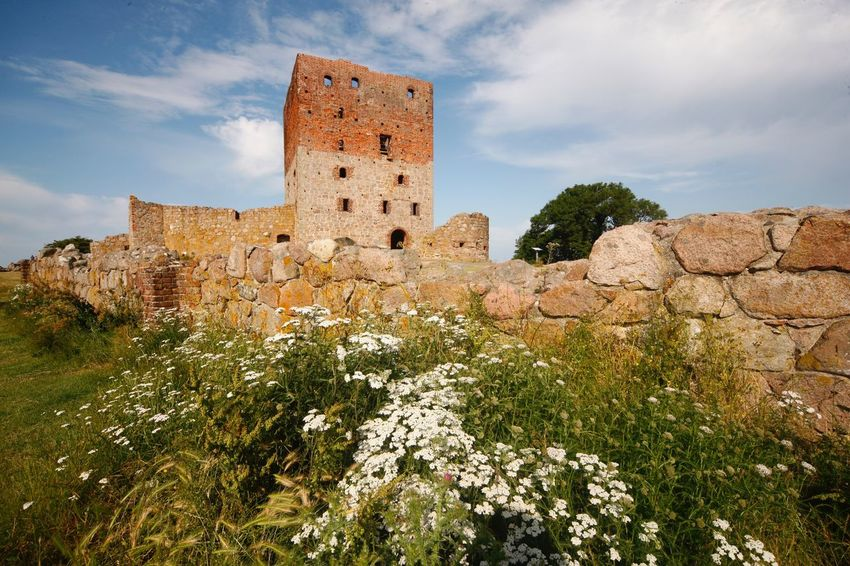 EyeEm Selects Architecture History Building Exterior The Past Built Structure Ancient Cloud - Sky Sky Old Ruin Fort Castle Travel Destinations Nature Day No People Outdoors Tree Bornholm Denmark Hammerfeste Hammershus Hammershus Ruin Hammershus Scandinaviancastle Ruins Bornholm Denmark