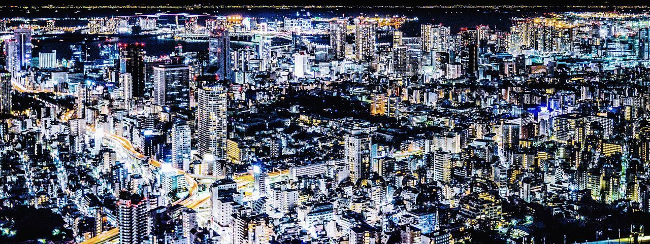 The details of Tokyo Stifanibrothers Night Lights Panorama Street Lights Night Full Frame Backgrounds Abundance Abstract Outdoors City No People Cityscape Close-up Mobility In Mega Cities