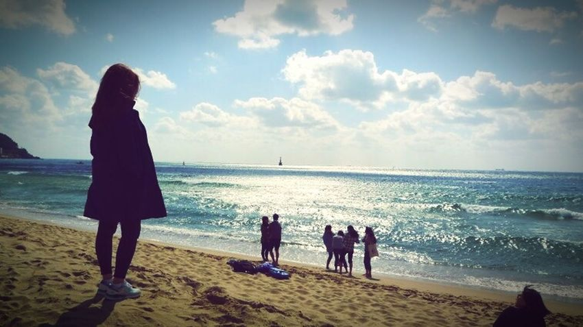 Autumn Sea With Him In Busan