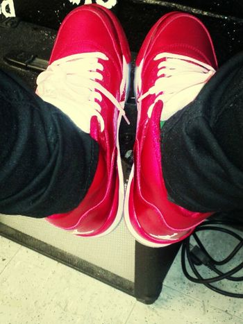my shoes today