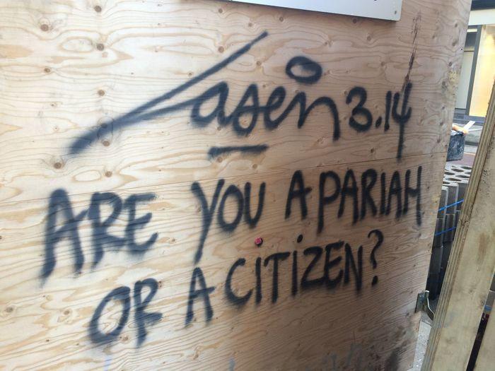 Laser 3.14 Street Art Graffiti