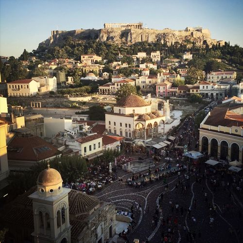 My eyes just got to see this. Don't really know what else to say. 😍😍😍 Enjoying The View Athens, Greece VisitGreece Sunset Beautiful Cityscapes