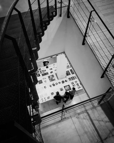 Photography Fotografia Museum Museo Museo De Arte Moderno High Angle View Architecture Art Museum Exhibition Modern Art Stairs