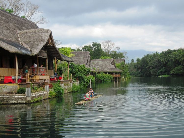 Villa Escudero - Bamboo Rafting Philippines Travel Architecture Bamboo Raft Cloud - Sky Culture Day Holiday House Jackylovee Landscape Native House Nature Nipa Hut Outdoors Plant Quezon Province River Sky Travel Destinations Tree Trip Villa Escudero Water Waterfront First Eyeem Photo