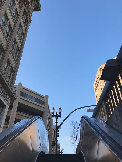 EyeEm Selects Low Angle View Architecture Built Structure Clear Sky Day Building Exterior Outdoors Blue City Real People Sky IPhone 7 Plus L. Jeffrey Moore IPhoneography