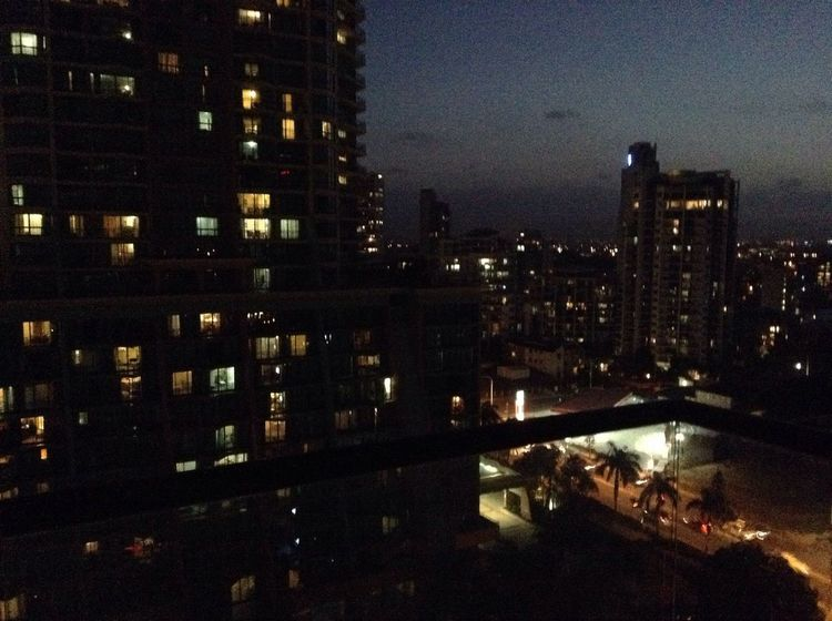 Night City City Lights Gold Coast