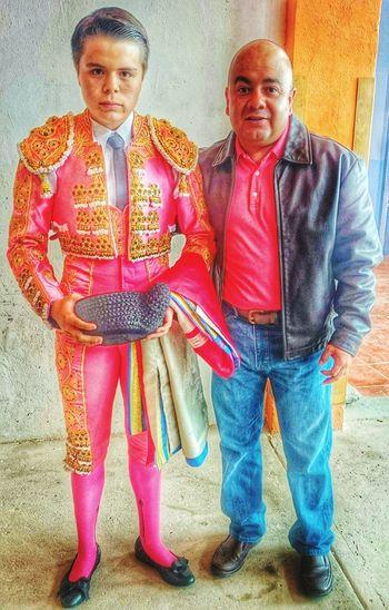 Toreros Mis Hijos Toreros En Los Toros Toros Con mi güero Jesús García Sotomayor, novillero