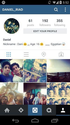 Follow Me On Instagram ? Follow Me I'll Follow Back I'll Follow You ☺